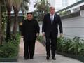 Kim Jong-un Sebut Pertemuannya dengan Trump bak Film Fantasi