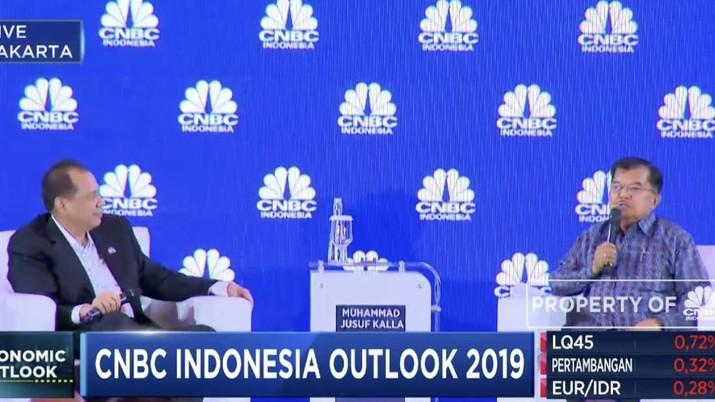 Wakil Presiden Jusuf Kalla mengatakan salah penyebab kejatuhan ekonomi sebuah negara karena pemerintah yang otoriter dan merebaknya nepotisme.