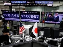 Bursa Jepang Melemah Jelang Rapat The Fed