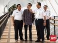 'Pungut' Dana Kompensasi KLB, Anies Resmikan JPO Rp53 Miliar