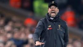 Liverpool Ditahan Everton, Jurgen Klopp Salahkan Angin
