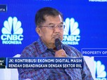 JK: Ekonomi Digital Jangan Lupakan Sektor Ril