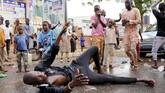 Kekerasan juga terjadi dalam pemilu di Nigeria. Setidaknya 39 orang tewas dalam kekerasan terkait pemilu. (REUTERS/Nyancho NwaNri)