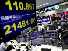 Merah Membara, Bursa Saham Asia Tersengat Wall Street