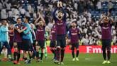 Barcelona meraih empat kemenangan dalam lima lawatan terakhir ke Santiago Bernabeu. (REUTERS/Susana Vera)