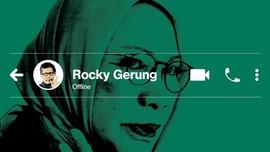 INFOGRAFIS: Isi Pesan Hoaks Ratna ke Rocky Gerung
