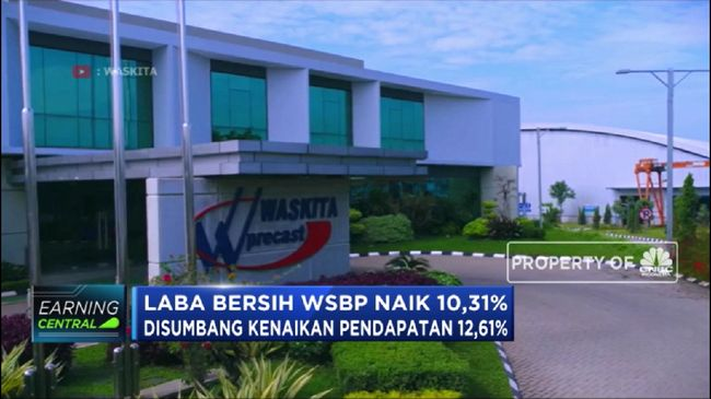 WSBP Berencana Terbitkan Obligasi, Saham WSBP Terkoreksi Hampir 2%
