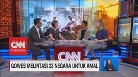 Lintas Puluhan Negara dengan Gowes Sepeda
