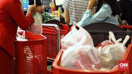 Pemerintah 'Tak Sehati' dengan Peritel soal Plastik Berbayar
