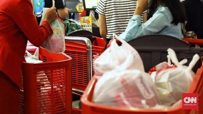 Kemenkeu Usul Kantong Plastik Kena Cukai Rp200 per Lembar