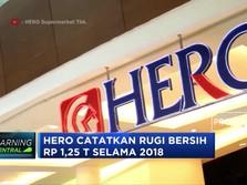 Pendapatan Susut, Rugi Hero Supermarket Membengkak