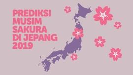INFOGRAFIS: Prediksi Musim Sakura di Jepang 2019