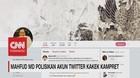 Mahfud MD Polisikan Akun Twitter Kakek Kampret