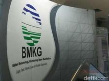 BMKG: Terjadi 673 Gempa di Agustus 2019, 3 Gempa Merusak