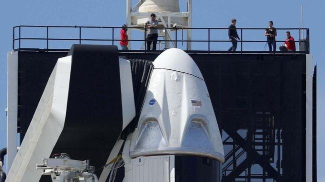 Kapsul Crew Dragon SpaceX Mendarat di Bumi Besok