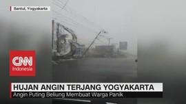 Hujan Angin Terjang Yogyakarta