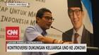 Kontroversi Dukungan Keluarga Uno ke Jokowi