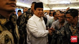 Prabowo Ingin Kembali Jenguk Ani Yudhoyono