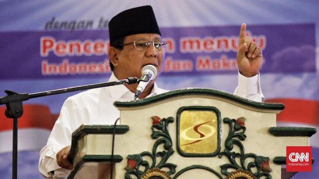 Prabowo Minum Kopi saat Azan, Fadli Nilai Bentuk Penghargaan