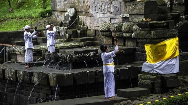 Tahun ini, Hari Raya Nyepi jatuh pada 7 Maret 2019. (Photo by Juni Kriswanto / AFP)