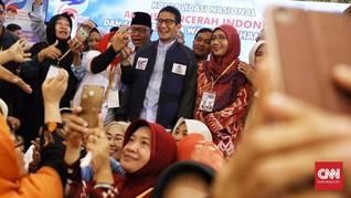 Sandi Ikut Isra Mi'raj di Bogor, Ma'ruf ke Daerah Pertempuran