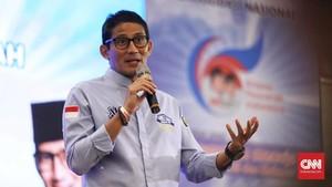 Kampanye Perdana di Sragen, Sandi Belum Kantongi Izin