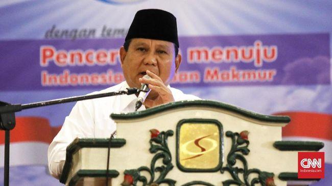 Prabowo: Elite Ingin Rakyat Macam Kerbau Dicucuk Hidung