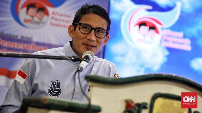 Sandiaga Jamin Utang Guru Bisa Lunas Jika Prabowo Presiden