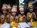 FOTO: Memulai Hari Raya Nyepi dengan Upacara Melasti