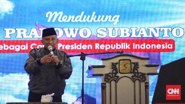Amien Rais Sindir Jokowi: Pak Kowi Presiden Pengembang