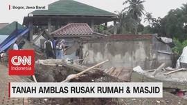 Tanah Amblas Rusak Rumah & Masjid