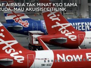 Soal KSO, Begini Penjelasan AirAsia vs Garuda