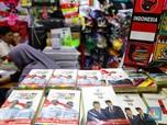 Geliat Penjual Atribut Pemilu yang Masih Kebanjiran Pesanan
