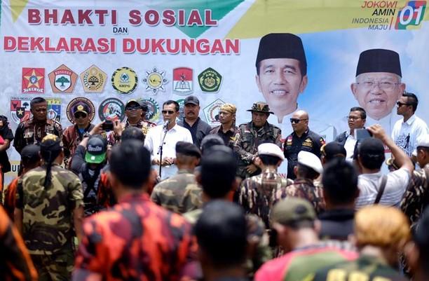 Baksos dan Deklarasi Ormas di Kabupaten Bogor