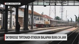 Skybridge Tirtonadi-Stasiun Balapan Buka 24 Jam