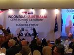 Sah! RI-Australia Teken Perjanjian Ekonomi IA-CEPA