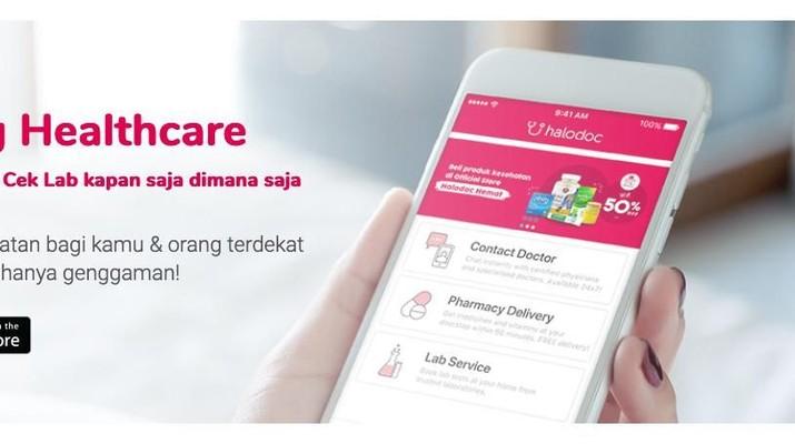 Grab, GoJek, dan Sinar Mas Incar Bisnis Aplikasi Kesehatan