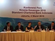 Laba StanChart Indonesia 2018 Tembus Rp 536 M, Tumbuh 371%
