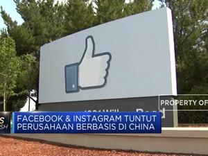 Facebook dan Instagram Tuntut Perusahaan Asal China
