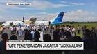 Rute Penerbangan Jakarta-Tasikmalaya