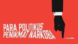 INFOGRAFIS: Andi Arief dan Para Politikus Penikmat Narkoba