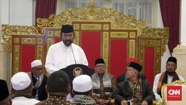 Surya Paloh Respons Ambisi Cak Imin Incar Posisi Ketua MPR