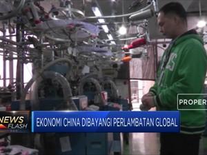 Ekonomi China Dibayangi Perlambatan Global