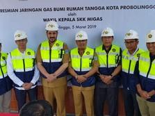 Sah! Probolinggo Nikmati Jaringan Gas mulai Maret 2019