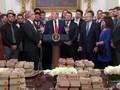 VIDEO: Trump Kembali Jamu Tamu dengan Makanan Cepat Saji