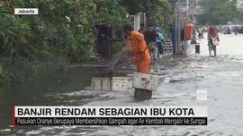 Banjir Rendam Sebagian Ibu Kota Jakarta
