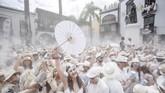 Di Kuba, mereka menjadi kaya raya. Ketika pulang ke kampung halaman, warga lokal itu disebut sebagai Los Indianos. (Photo by DESIREE MARTIN / AFP)