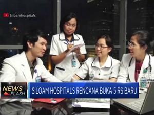 Siloam Hospitals Berencana Buka 5 RS Baru