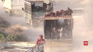 Banjir Terjang Kamp Pengungsi Suriah, Ribuan Orang Terlantar