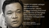 Juru Bicara TKN TB Ace Hasan Syadzili.